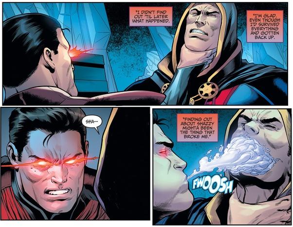 Bloom (Winx) VS Superman (DC) Shazam10