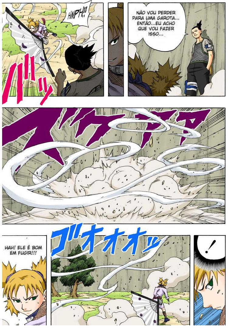 Temari (clássico) vs. Kimimaro Shikam14