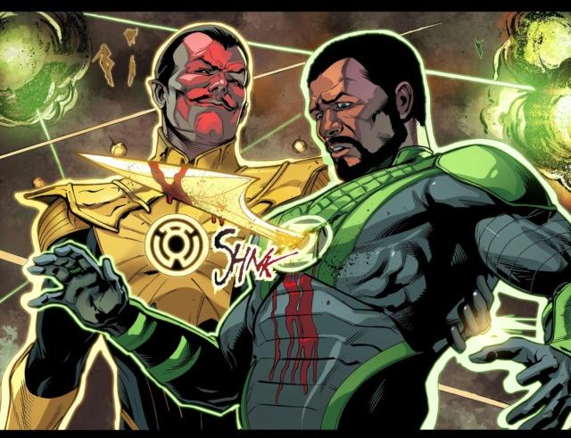 Qual dos lanternas verdes terráqueos é o seu favorito? Sinest28