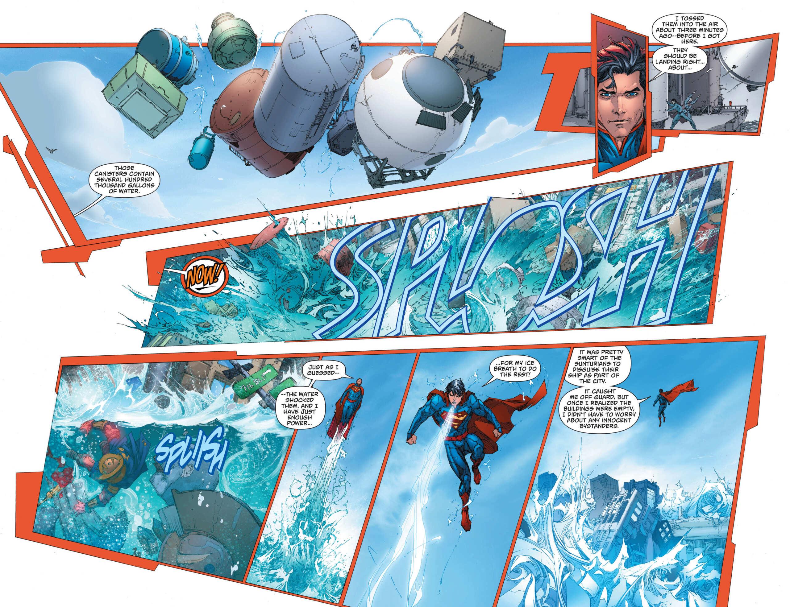 Superman e seu sopro congelante Superm12