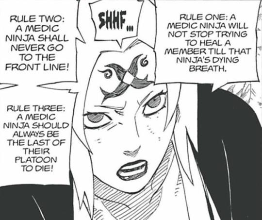 Sasuke vs Tsunade e Sakura Tsunad10
