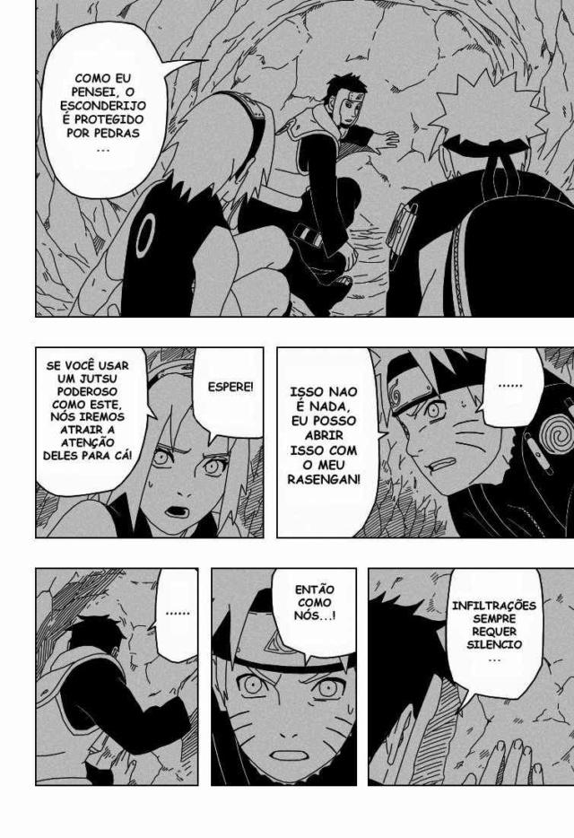 Mei, Chojuro e Zabuza vs Darui, Kurotsuchi e Yamato Tzocni12
