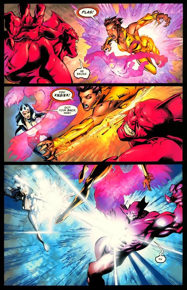 Vixen vs She Hulk  Vixen_12