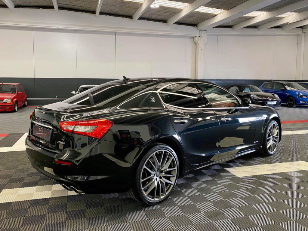 Protection esthétique sur Maserati Ghibli Masera13
