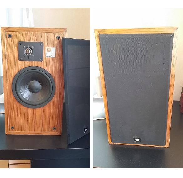 """JBL TLX-14 Vintage 2-way Speakers, 8"""" Woofers, Titanium Tweeters Combo116"""