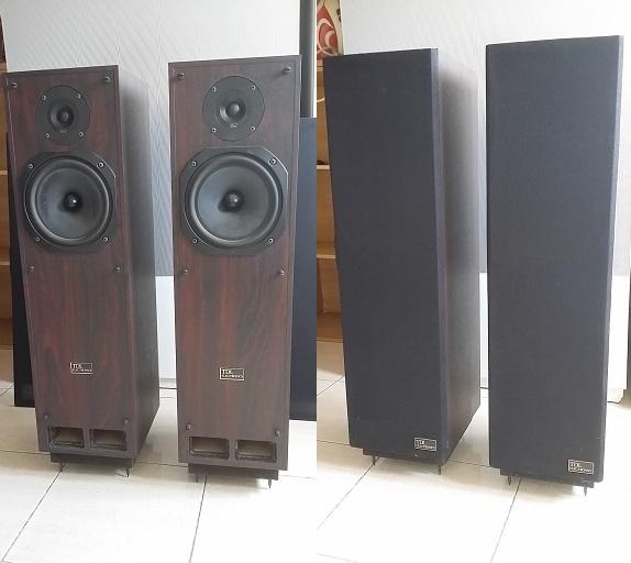 TDL RTL2 Vintage Reflex transmission line Speakers