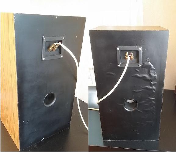 """JBL TLX-14 Vintage 2-way Speakers, 8"""" Woofers, Titanium Tweeters Combo215"""