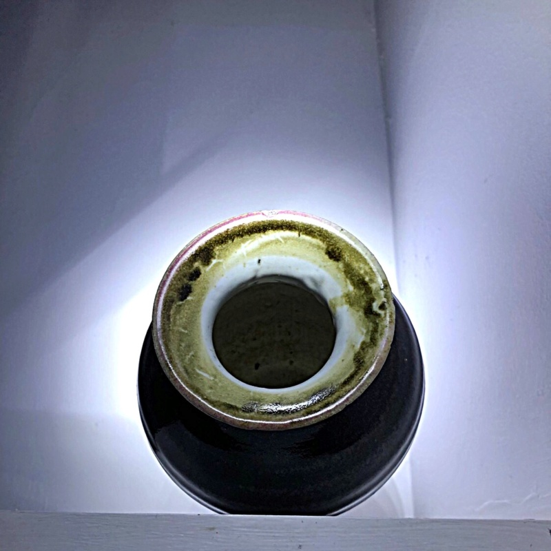 Tenmoku vase by Matt Waite 2dc0d510