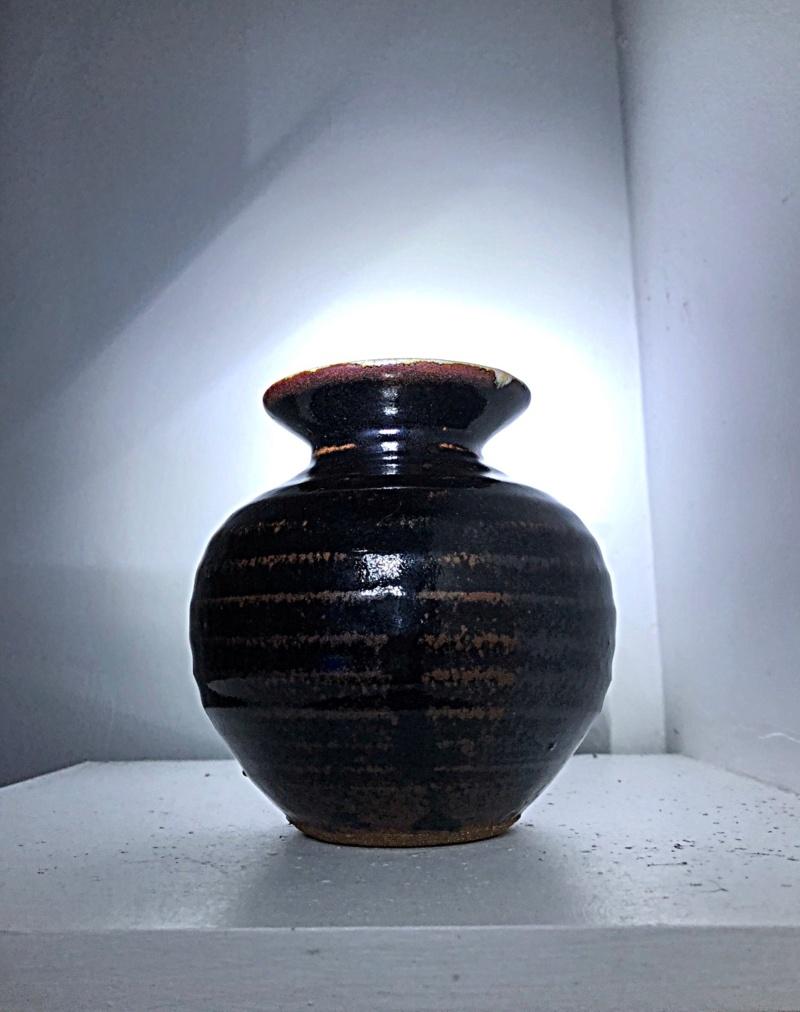 Tenmoku vase by Matt Waite Dfb9c310