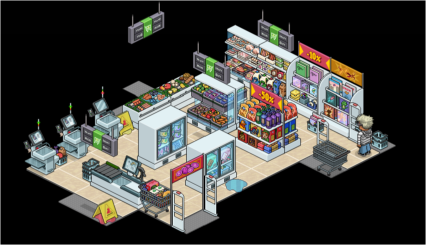 Pack - Supermarché P-a10