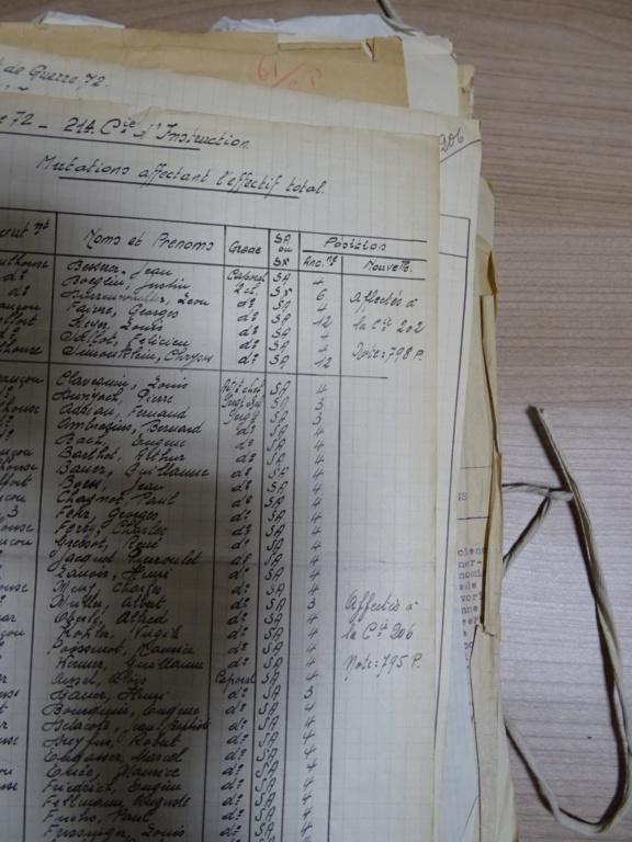 Dépôt d'Infanterie n°72 Compagnie 203 Valdoie (Belfort) Dsc02711