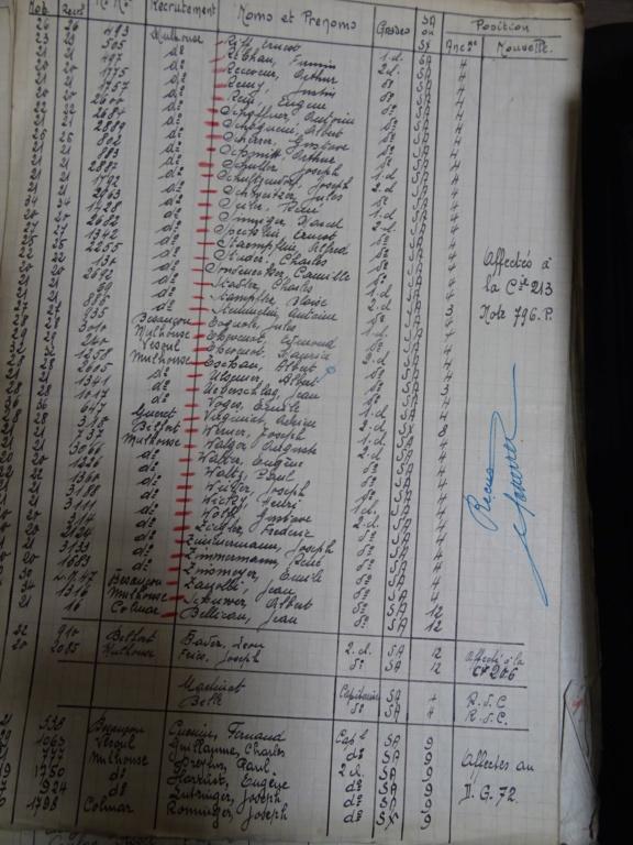 Dépôt d'Infanterie n°72 Compagnie 203 Valdoie (Belfort) Dsc02713