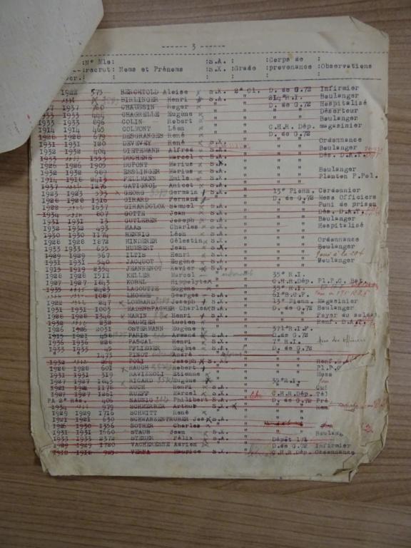 Dépôt d'Infanterie n°72 Compagnie 203 Valdoie (Belfort) Dsc02719