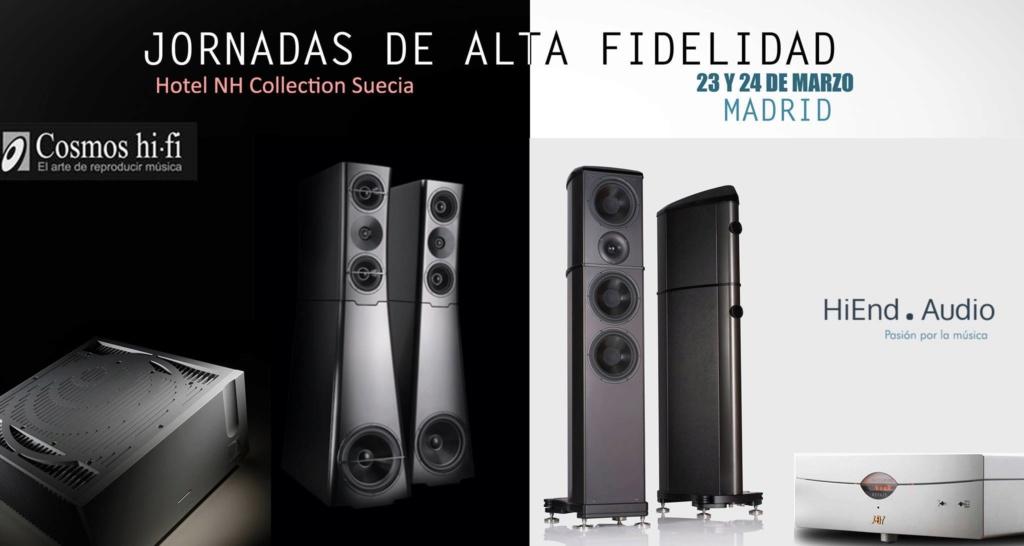 Jornadas de Alta Fidelidad: Cosmos hi-fi + HiEnd Audio 23 y 24 de marzo.  53014710