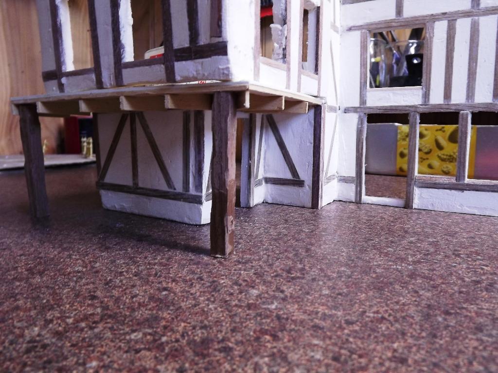 Pas-à-pas maison type Normande pour diorama 1/35 03_410