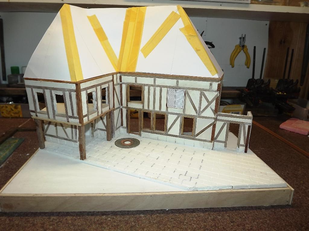 Pas-à-pas maison type Normande pour diorama 1/35 - Page 2 04_110