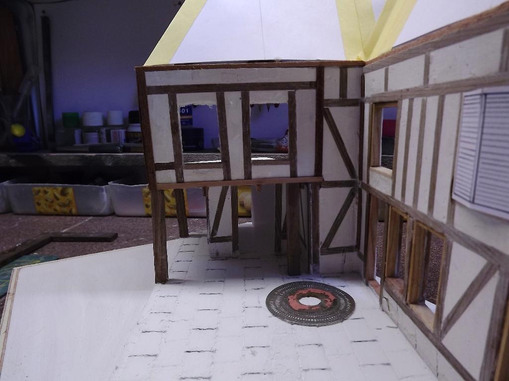 Pas-à-pas maison type Normande pour diorama 1/35 - Page 2 04_410