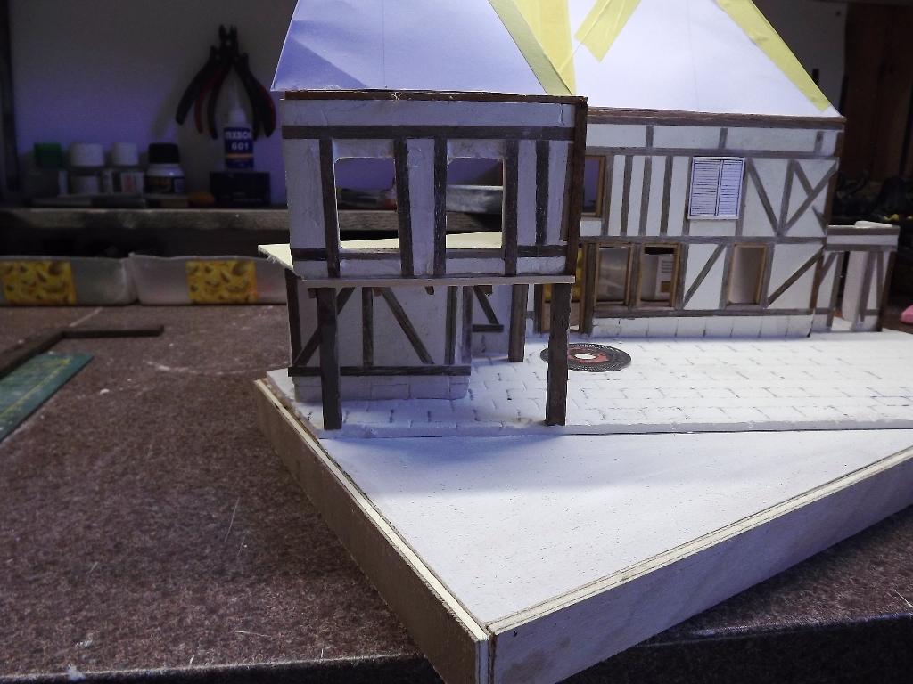 Pas-à-pas maison type Normande pour diorama 1/35 - Page 2 04_510