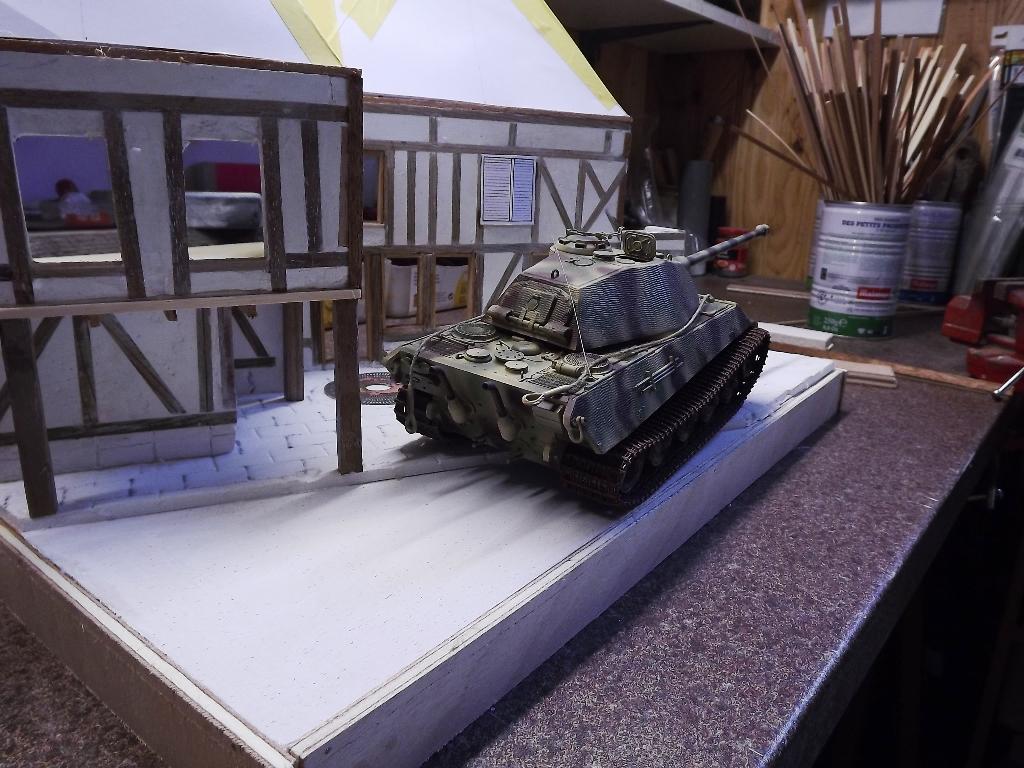 Pas-à-pas maison type Normande pour diorama 1/35 - Page 2 04_611