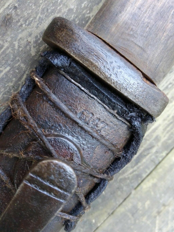 couteau fait a partir d'une baio K98 314
