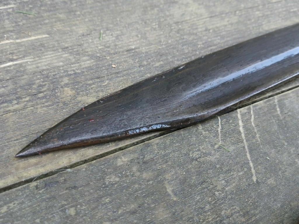 couteau fait a partir d'une baio K98 810