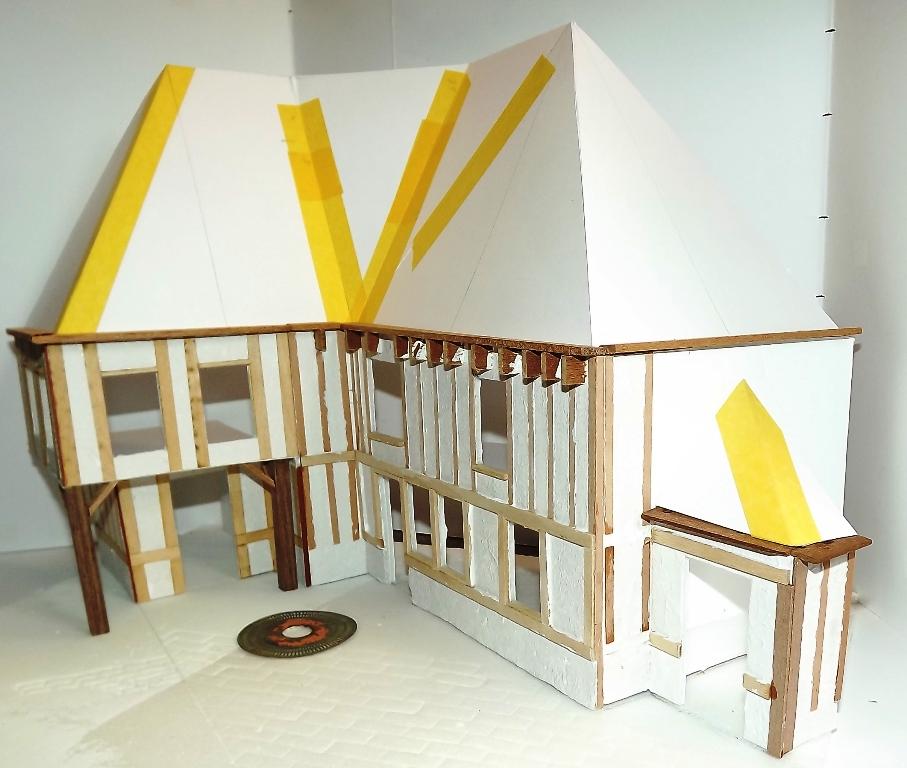 Diorama maison normande - 1/35 Dscf3935