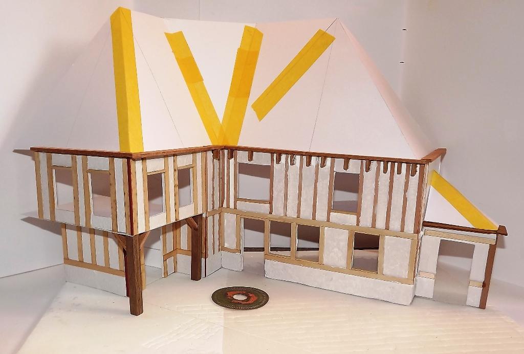 Diorama maison normande - 1/35 Dscf3936