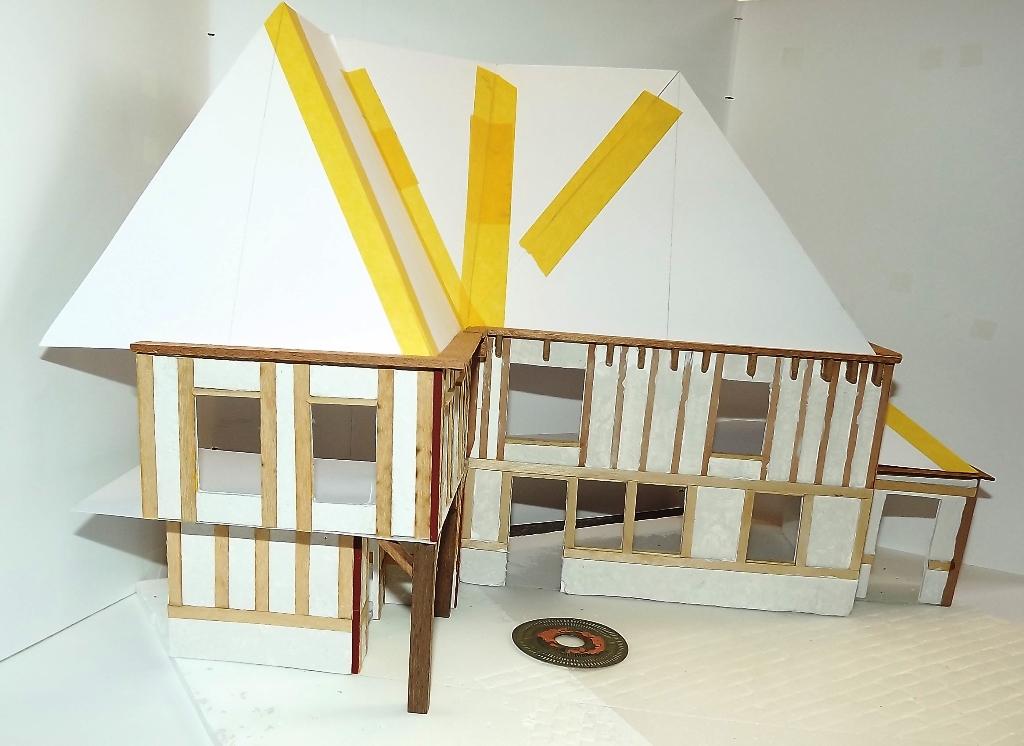 Diorama maison normande - 1/35 Dscf3937
