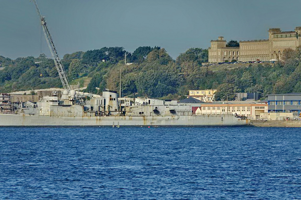 [Les ports militaires de métropole] Port de BREST - TOME 3 - Page 27 _co12279
