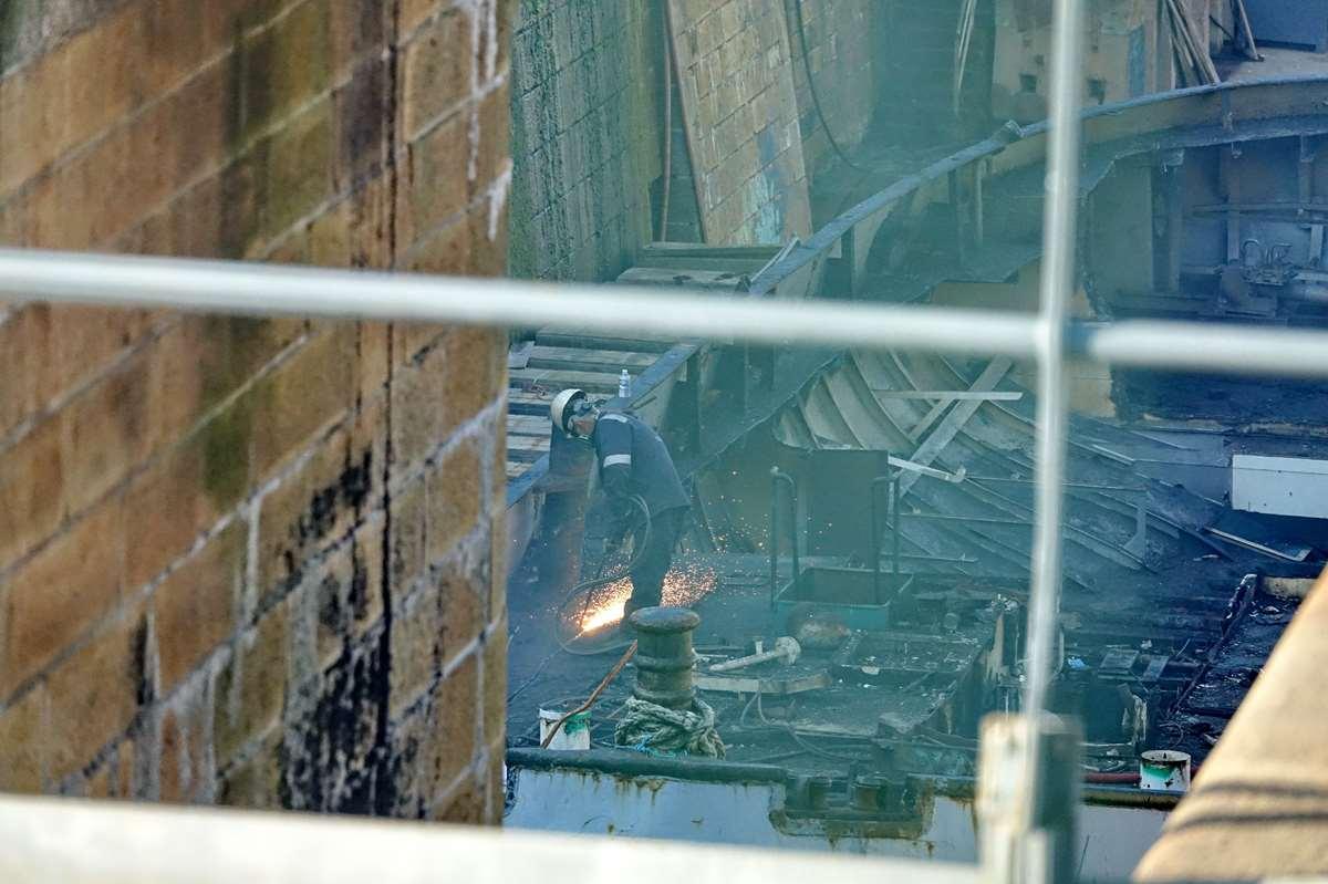 [Autre sujet Marine Nationale] Démantèlement, déconstruction des navires - TOME 2 - Page 24 _co12389