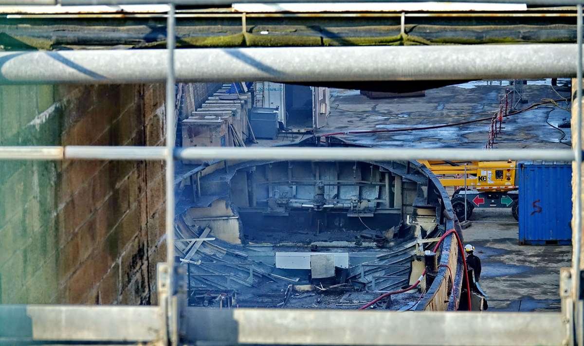 [Autre sujet Marine Nationale] Démantèlement, déconstruction des navires - TOME 2 - Page 24 _co12396