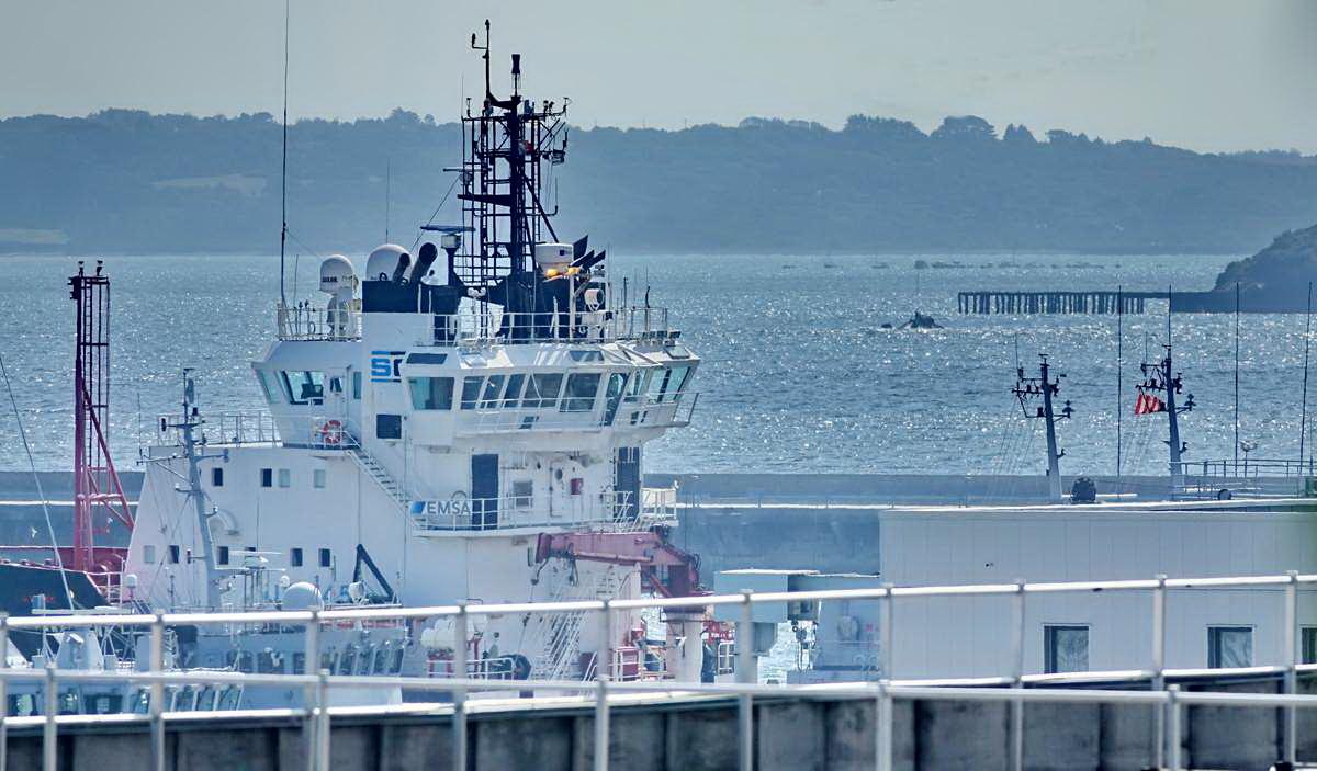 [Les ports militaires de métropole] Port de BREST - TOME 3 - Page 28 _co12941