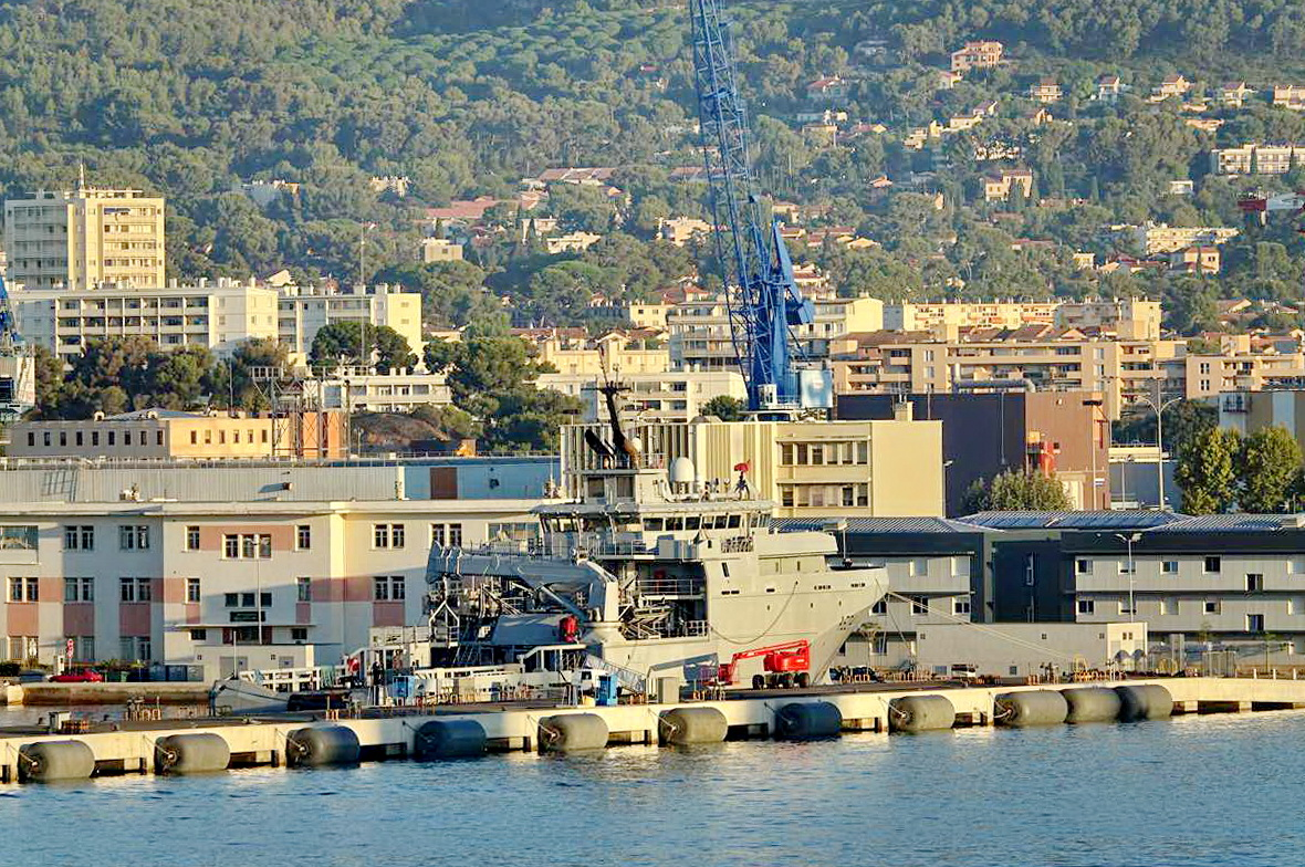 [Les ports militaires de métropole] Port de Toulon - TOME 1 - Page 5 _co13591