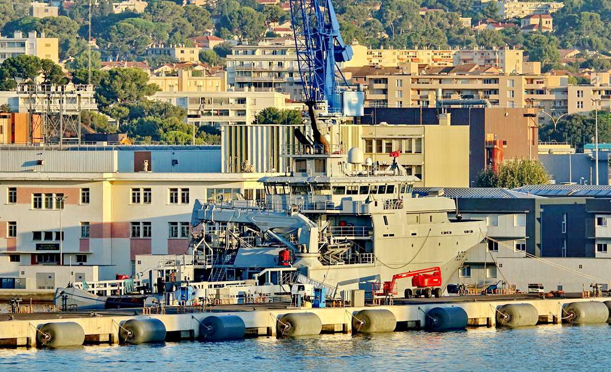 [Les ports militaires de métropole] Port de Toulon - TOME 1 - Page 5 _co13592