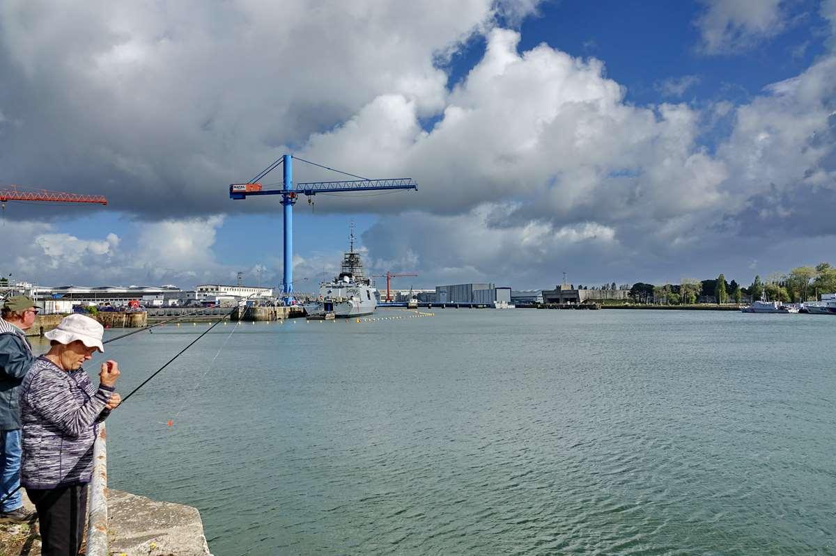 [Les ports militaires de métropole] Port de LORIENT - TOME 1 - Page 14 _cop2713