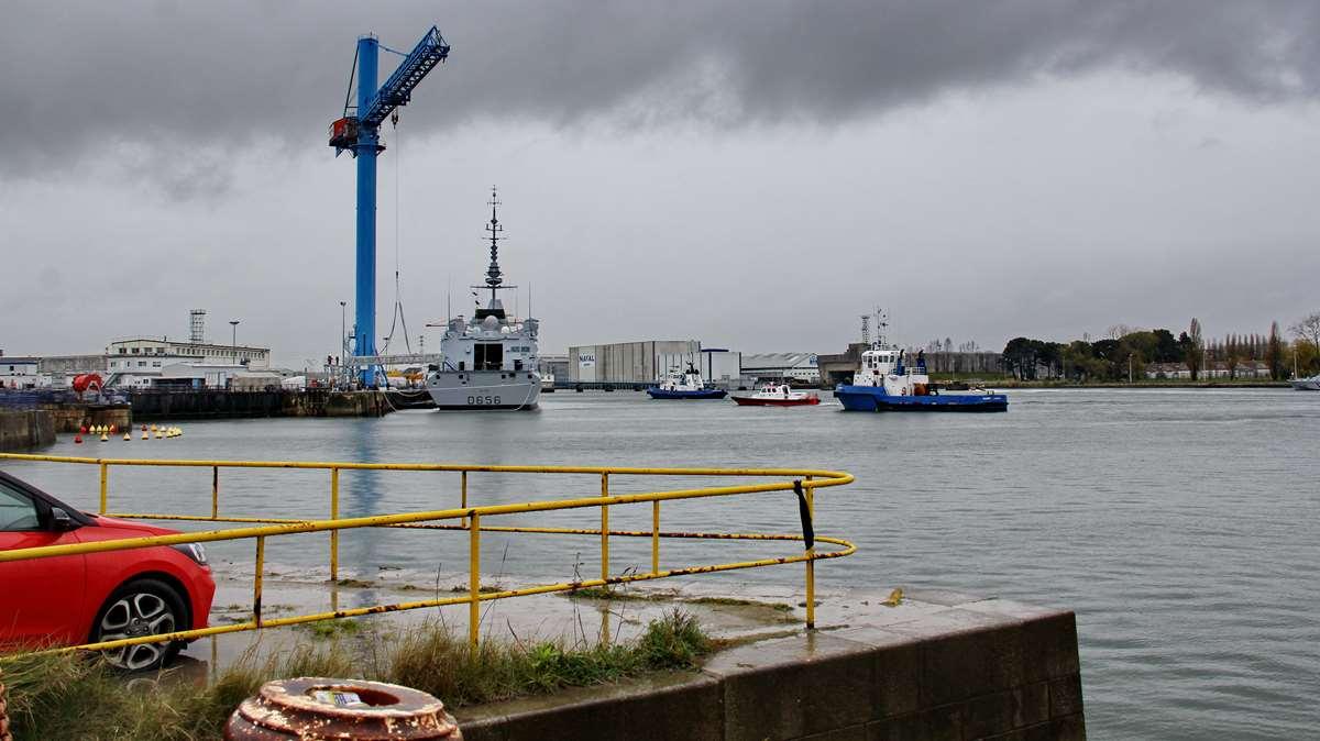 [Les ports militaires de métropole] Port de LORIENT - TOME 1 - Page 23 _cop3659