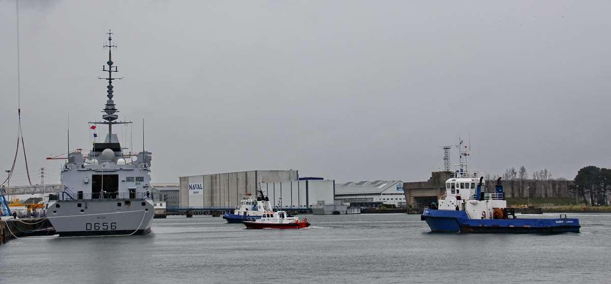 [Les ports militaires de métropole] Port de LORIENT - TOME 1 - Page 23 _cop3660