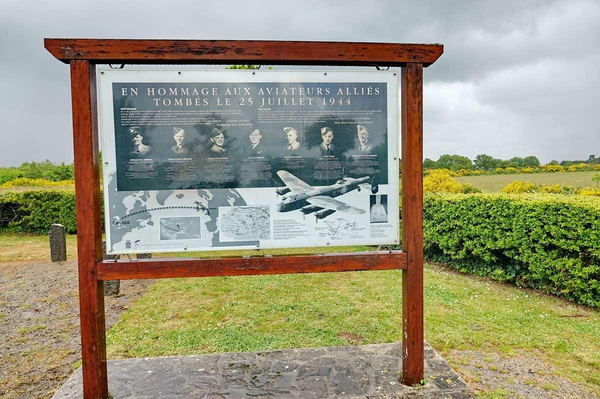 Hommage à l'équipage du Lancaster 863 _cop4951