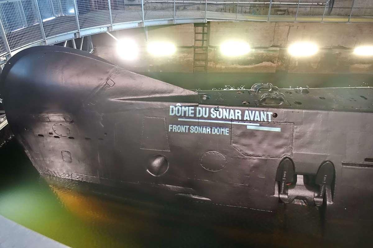 [ Les musées en rapport avec la Marine ] Sous-Marin Espadon (Saint-Nazaire). - Page 2 _cop7920