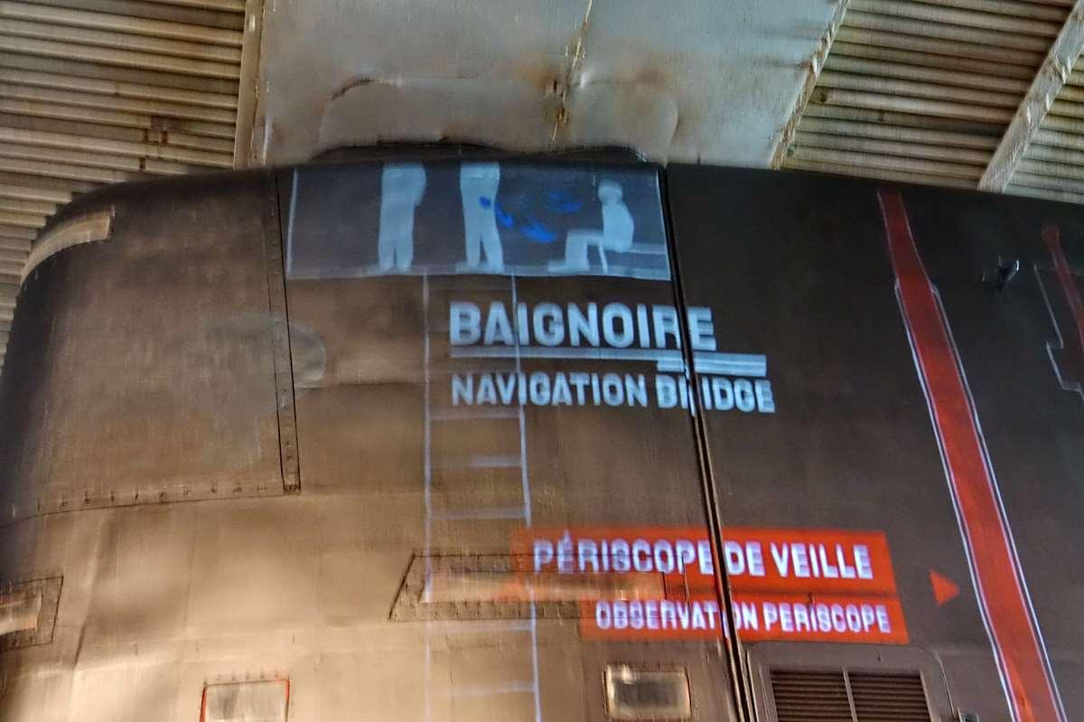 [ Les musées en rapport avec la Marine ] Sous-Marin Espadon (Saint-Nazaire). - Page 2 _cop7927