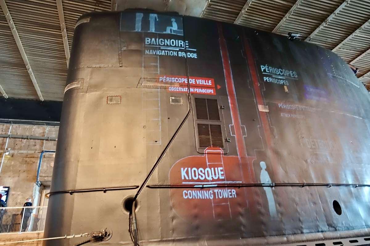 [ Les musées en rapport avec la Marine ] Sous-Marin Espadon (Saint-Nazaire). - Page 2 _cop7928