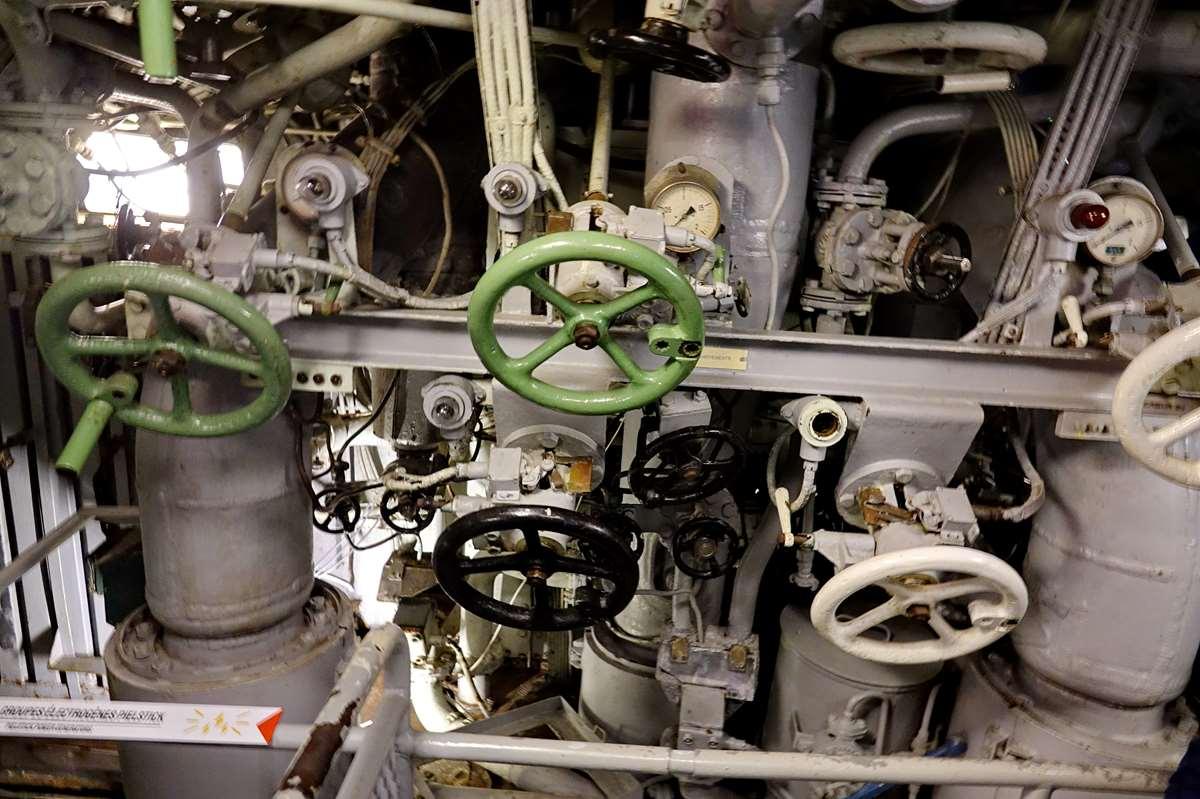 [ Les musées en rapport avec la Marine ] Sous-Marin Espadon (Saint-Nazaire). - Page 2 _cop7950