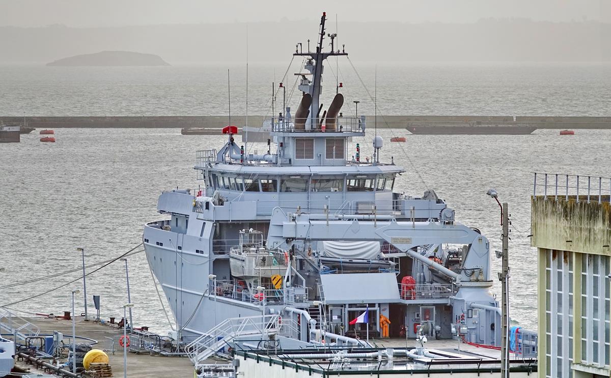 [Les ports militaires de métropole] Port de BREST - TOME 3 - Page 15 Brest_36
