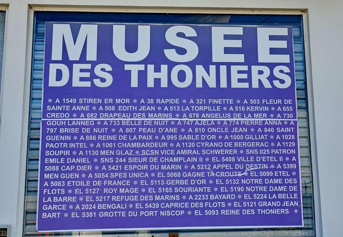 [Vie des ports] Etel d'aujourd'hui et son histoire de la pêche au thon Dsc05876