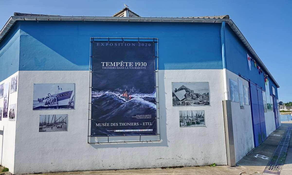 [Vie des ports] Etel d'aujourd'hui et son histoire de la pêche au thon Dsc05958
