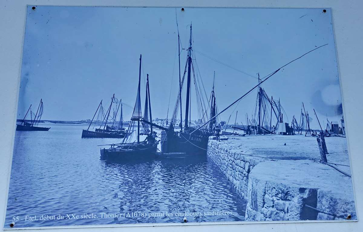 [Vie des ports] Etel d'aujourd'hui et son histoire de la pêche au thon Dsc06051