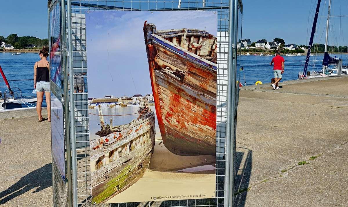 [Vie des ports] Etel d'aujourd'hui et son histoire de la pêche au thon Dsc06092