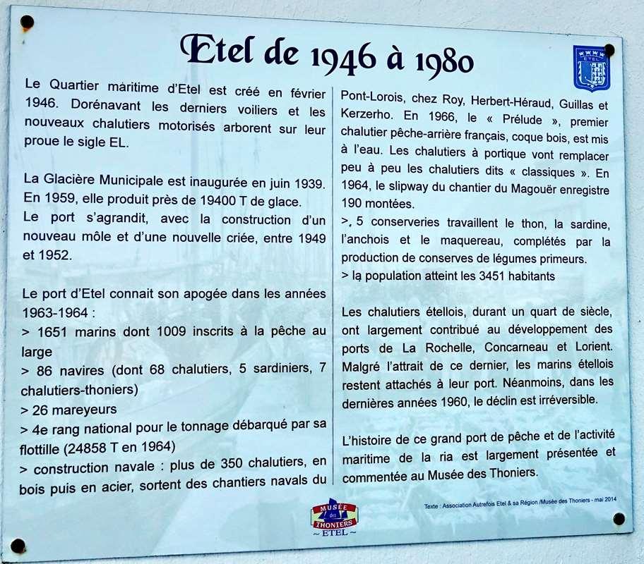[Vie des ports] Etel d'aujourd'hui et son histoire de la pêche au thon - Page 2 Dsc06330