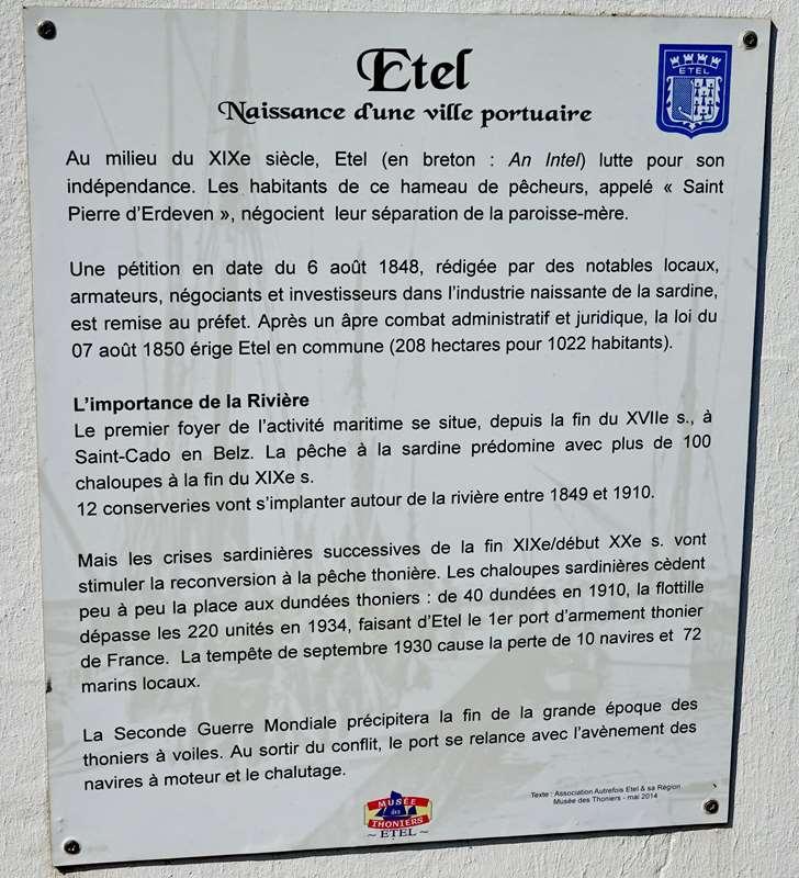 [Vie des ports] Etel d'aujourd'hui et son histoire de la pêche au thon - Page 3 Dsc10012