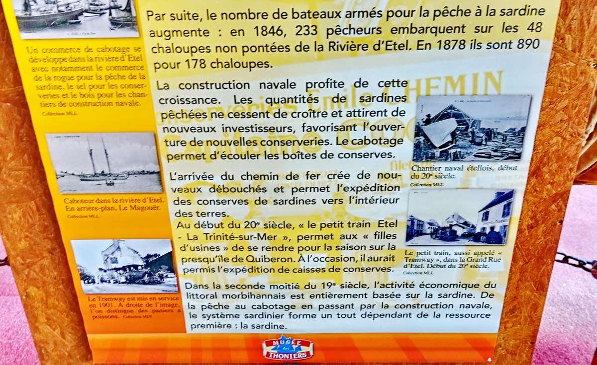 [Vie des ports] Etel d'aujourd'hui et son histoire de la pêche au thon - Page 4 Dsc10484